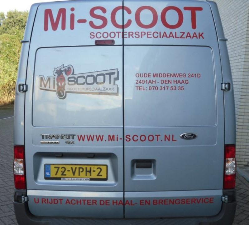 Mi-Scoot Haal en breng service