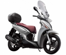 Kymco New People  op=op incl windscherm en koffer